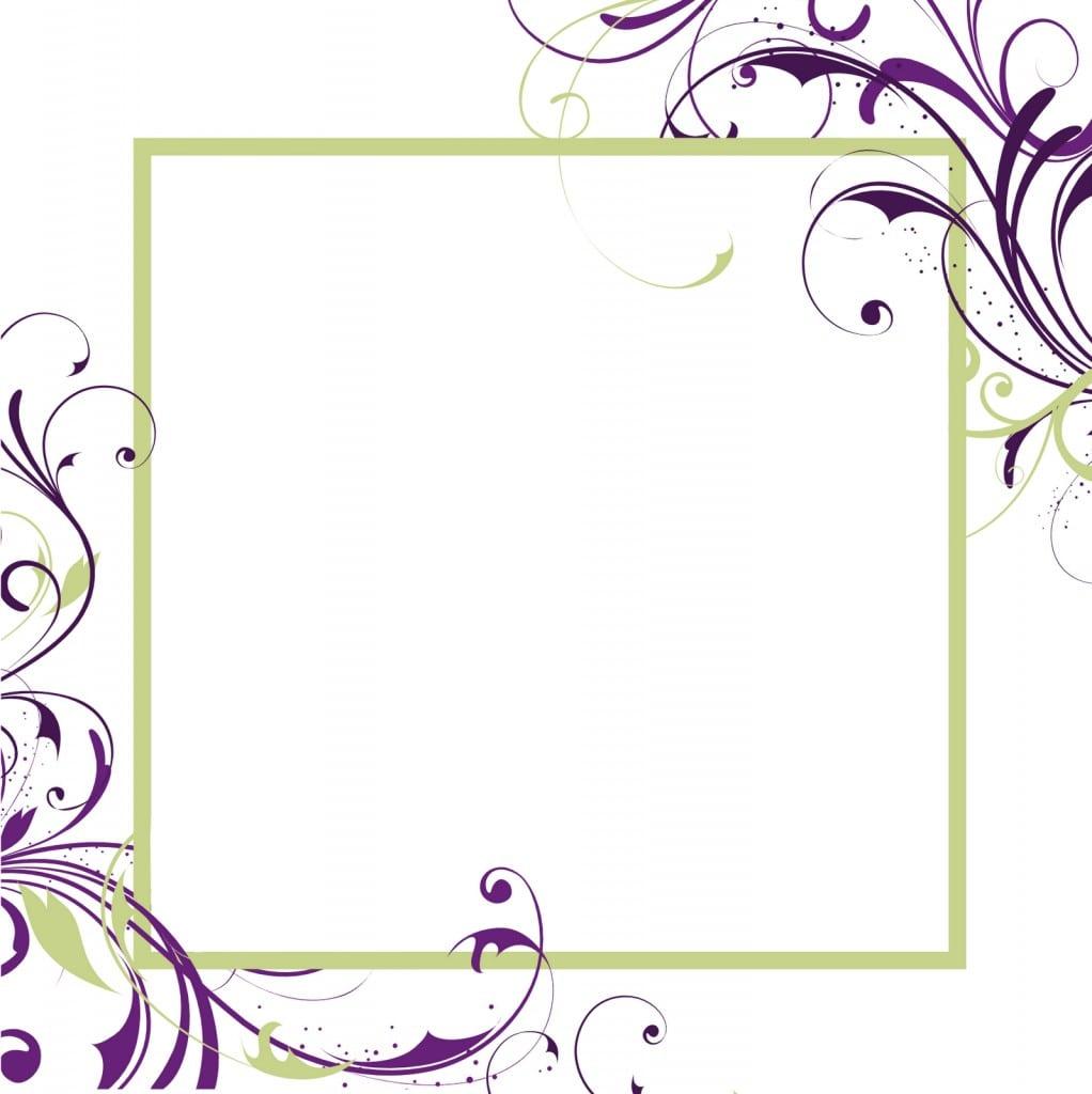 Free Download Vintage Wedding Invitation Templates 5