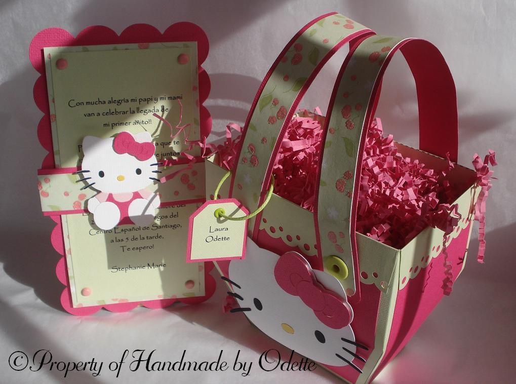 Free Hello Kitty Birthday Invitation Template 5