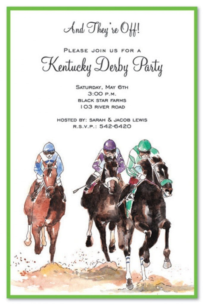 Free Horse Printable Birthday Invitations 5