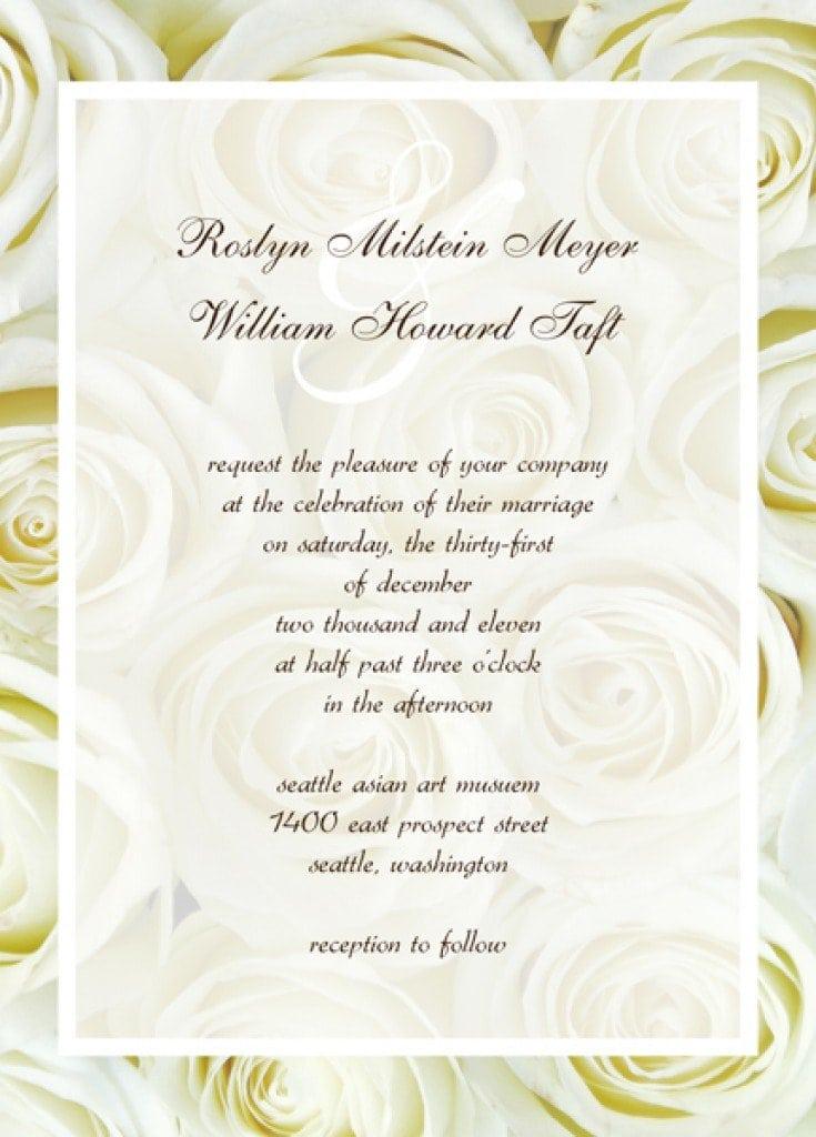 Free Invitation Template Engagement