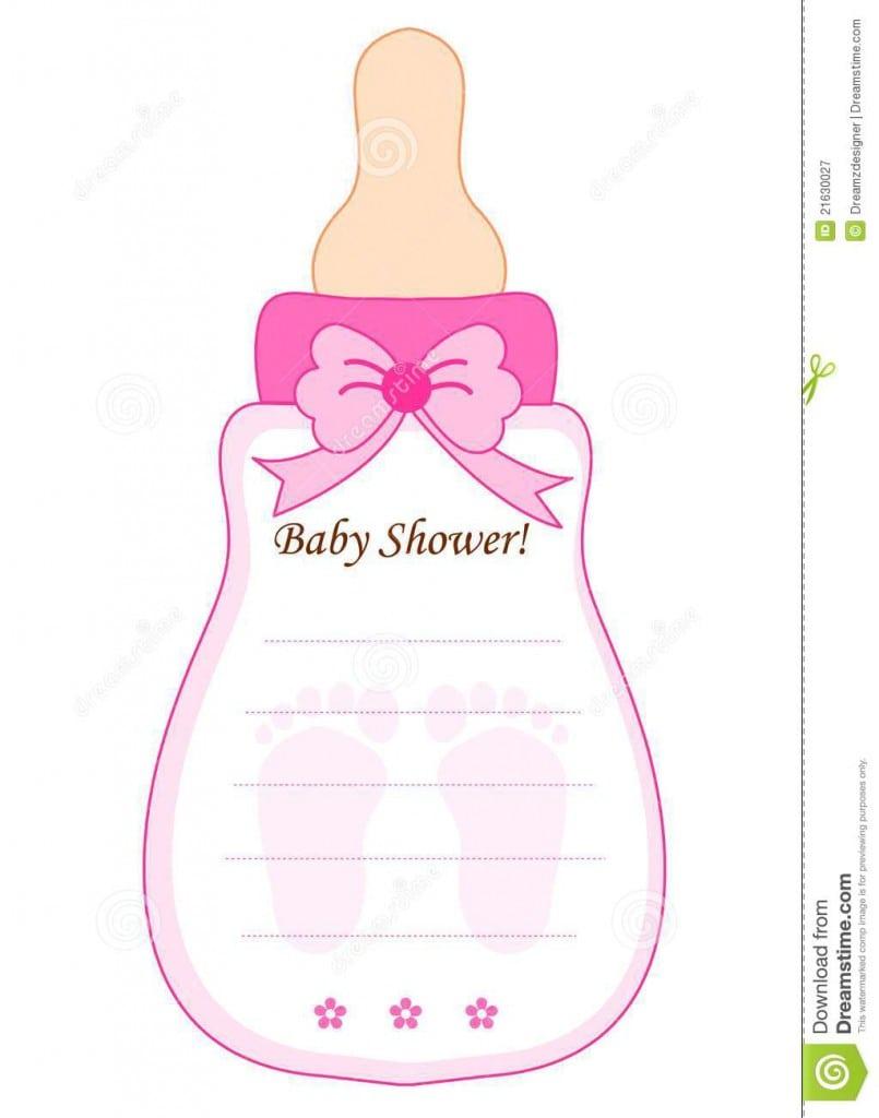 Free Invitation Templates Baby Girl Christening 2