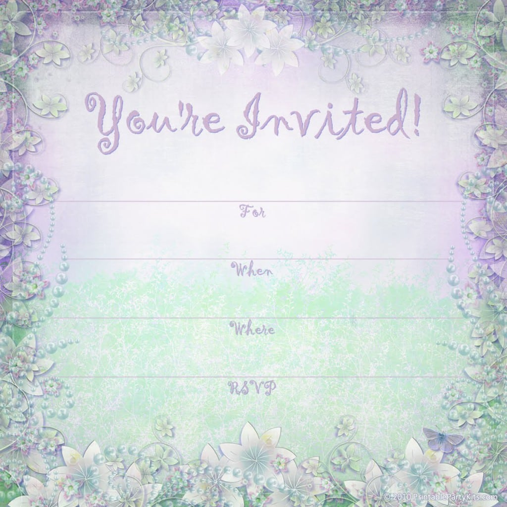 Free Invitation Templates Baby Girl Christening