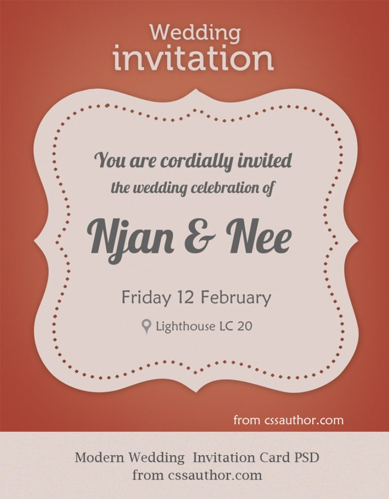Free Invitation Templates To Download 2