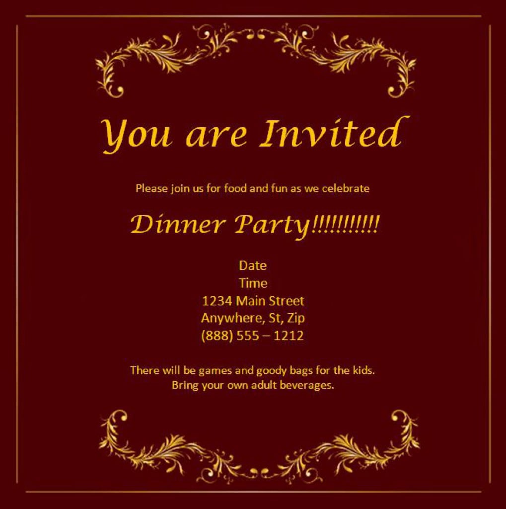 Free Invitation Templates To Download 5