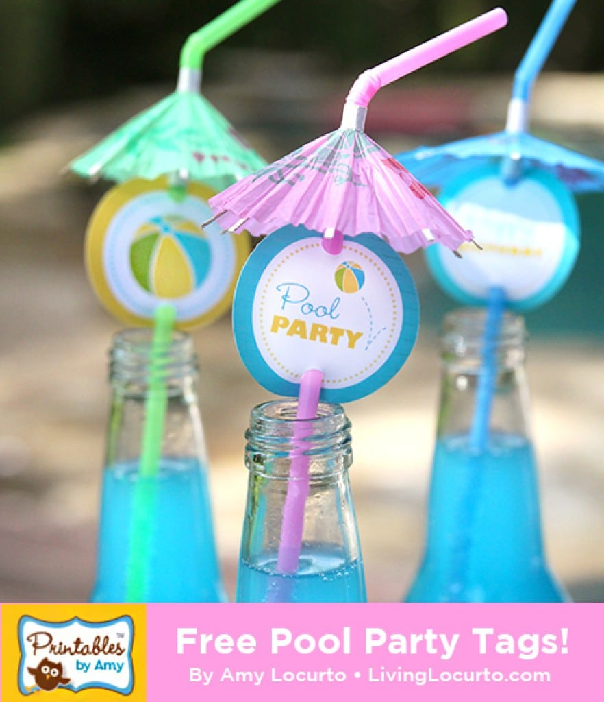 Free Kids Pool Party Invitations Printable