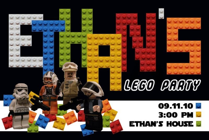 Free Lego Birthday Invitations Printable 3