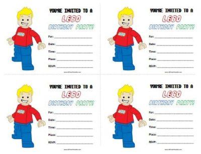 free lego birthday invitations printable, Invitation templates