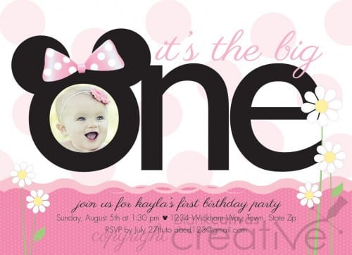 Free Mickey Mouse Clubhouse Invitations Template 2015