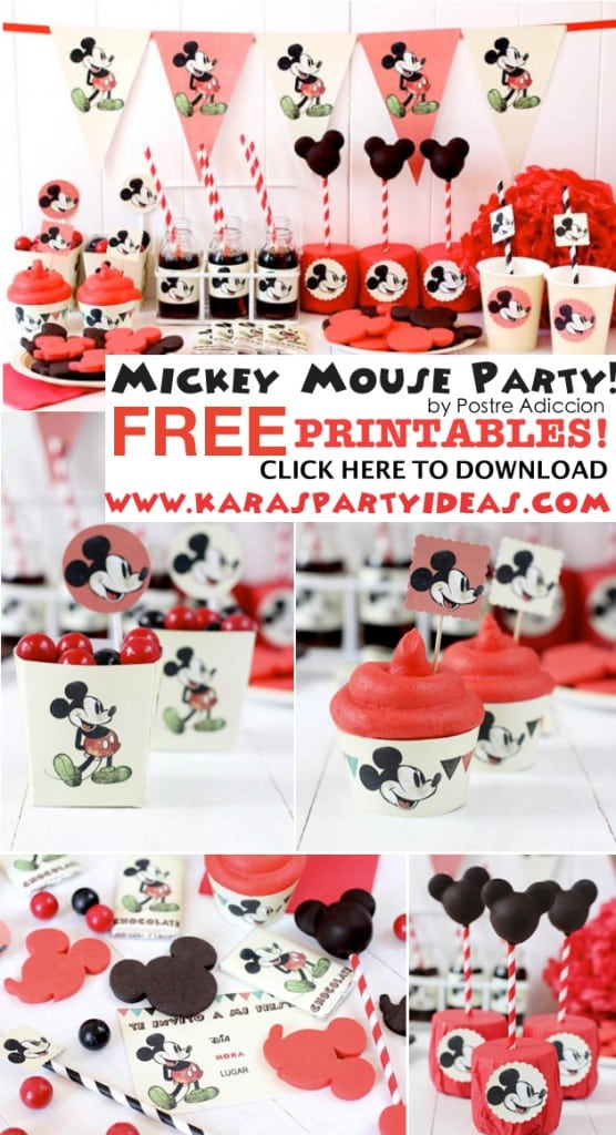 Free Mickey Mouse Party Invites 4