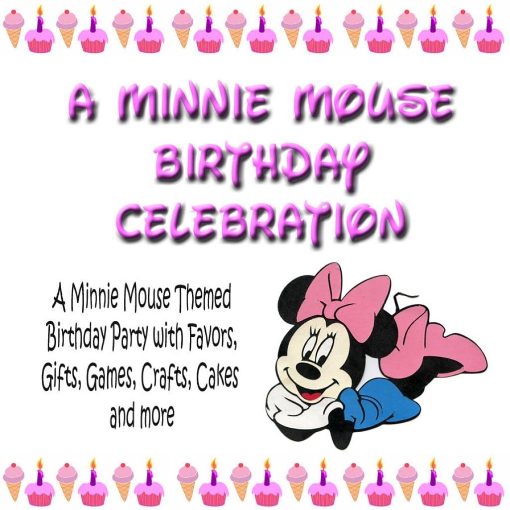 Free Minnie Mouse Birthday Invitation Templates 5