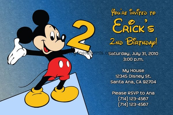 Free Minnie Mouse Invite Template