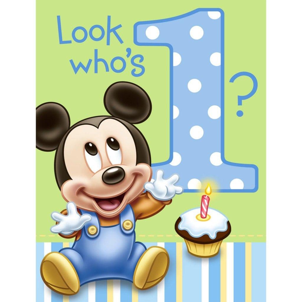 Free Party Invites 1st Birthday 4