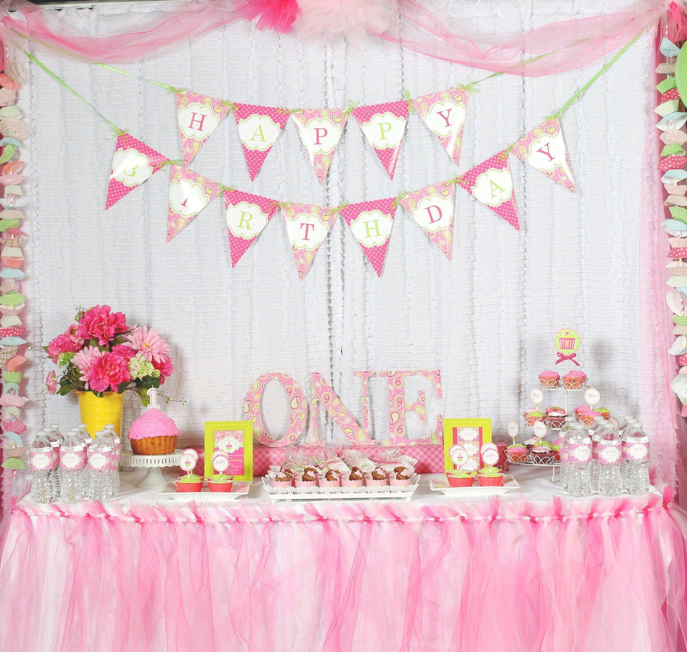 Free Party Invites 1st Birthday 5