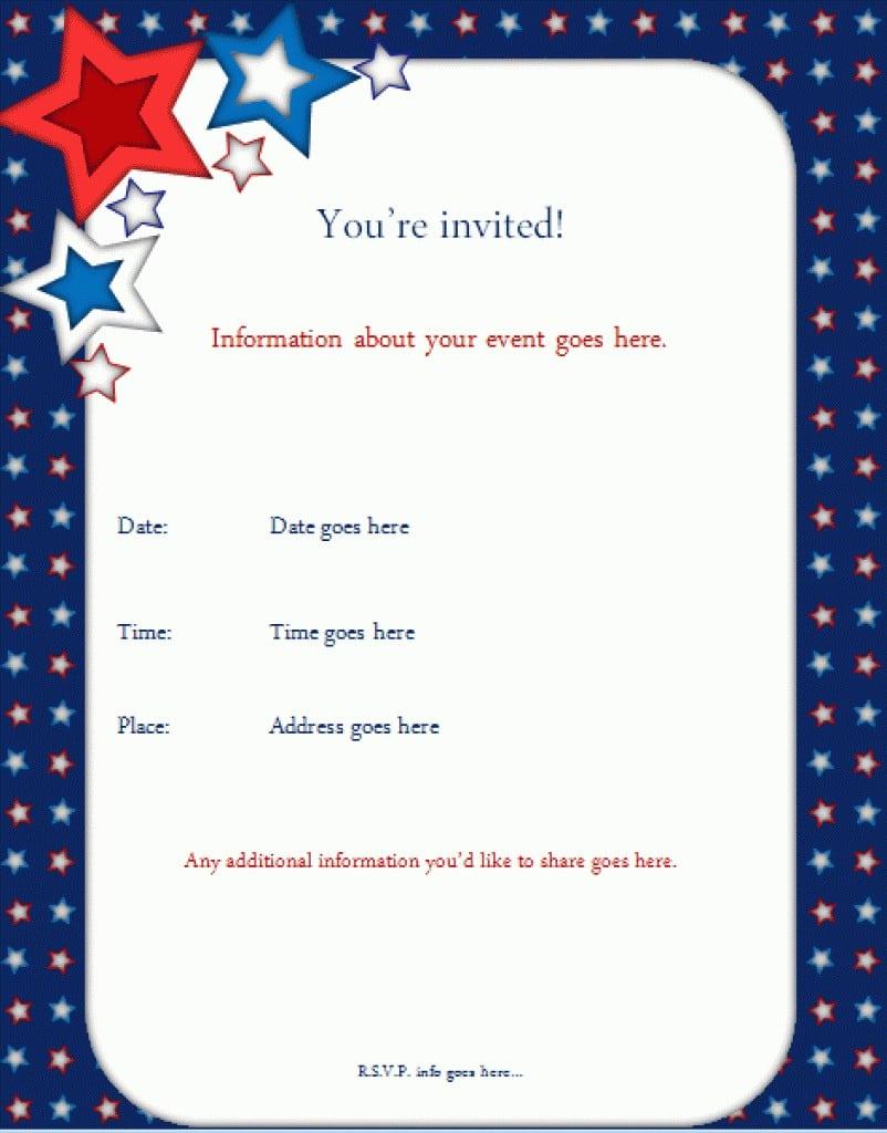 Free Pirate Invitation Template 5