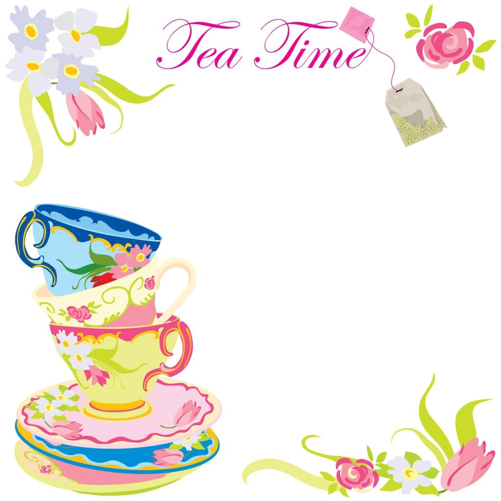 Free Princess Tea Party Invitations Printable 2