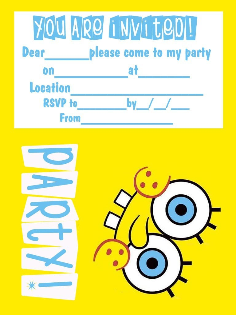 Free Printable 16th Birthday Party Invitation Templates 3