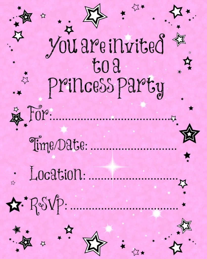 Free Printable 1st Birthday Invitation Templates