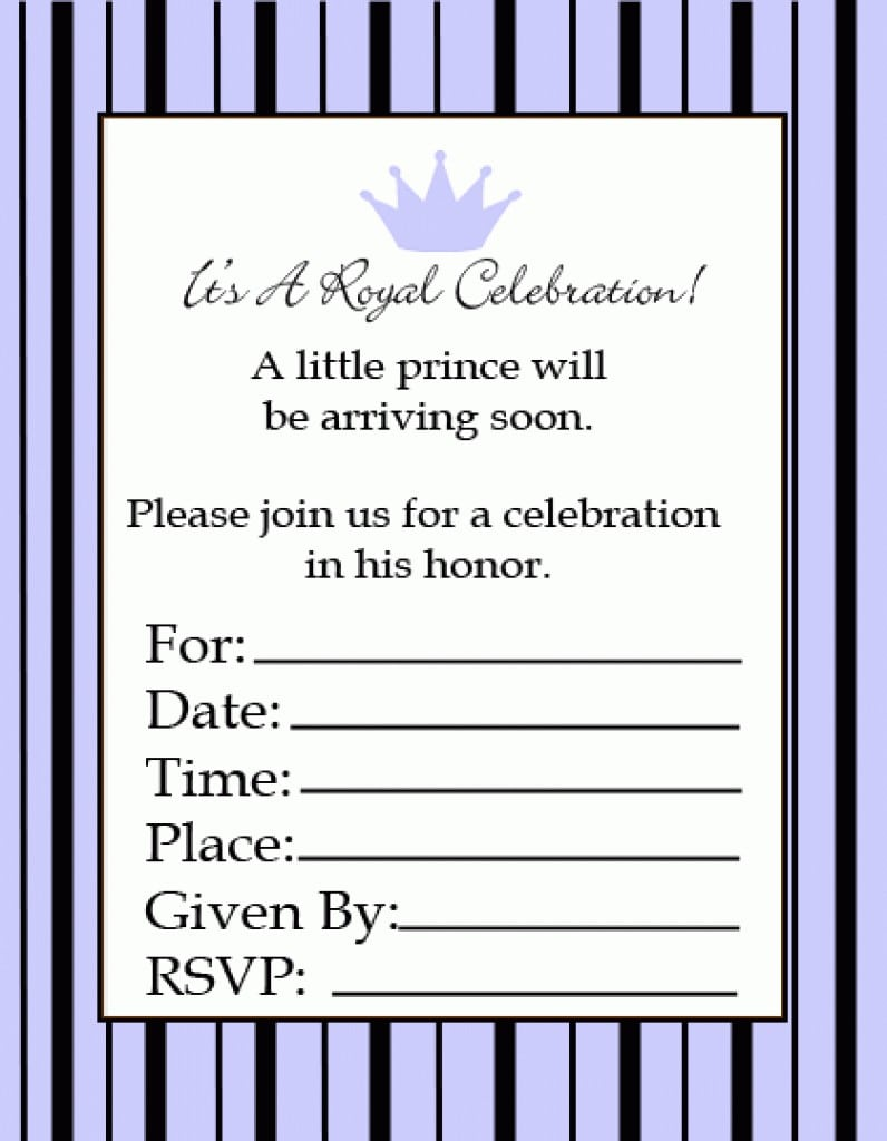 Free Printable St Birthday Invitations Templates - Birthday invitation email templates free