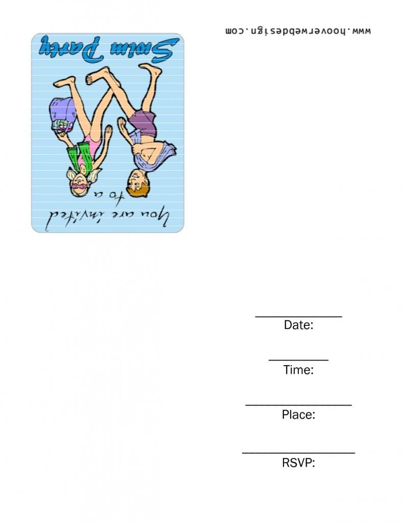 Free Printable 30th Birthday Invitation Templates 2