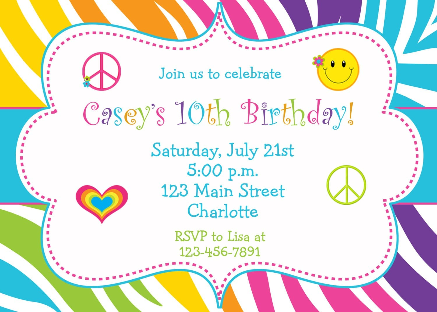 Free Printable 30th Birthday Invitation Templates