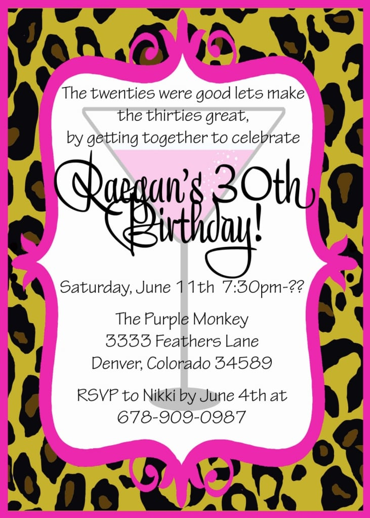 Birthday Party Invite Wording wblqualcom