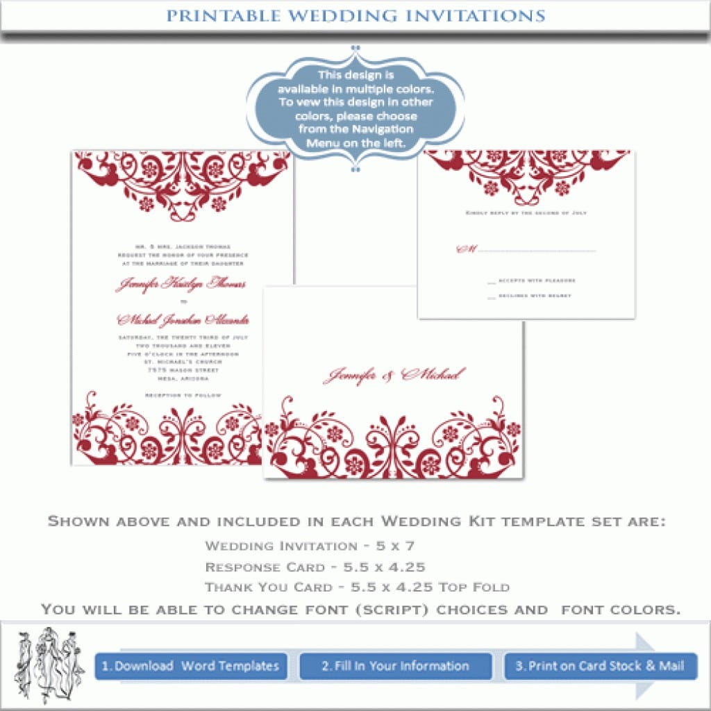 Free Printable Banquet Invitation Templates 2
