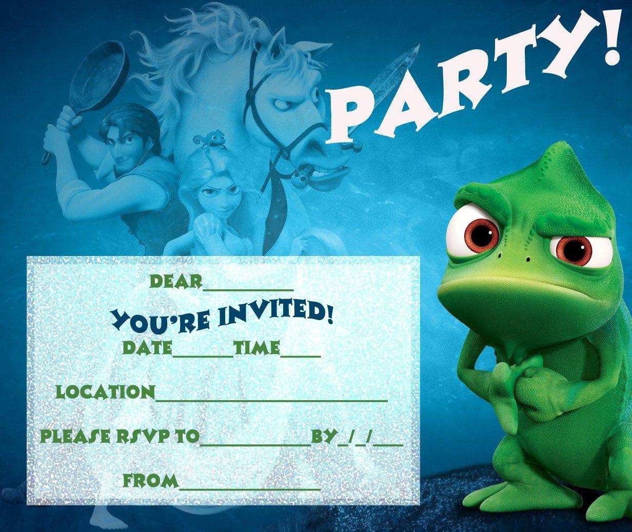 Free Printable Birthday Invitations For Teenage Girls 3