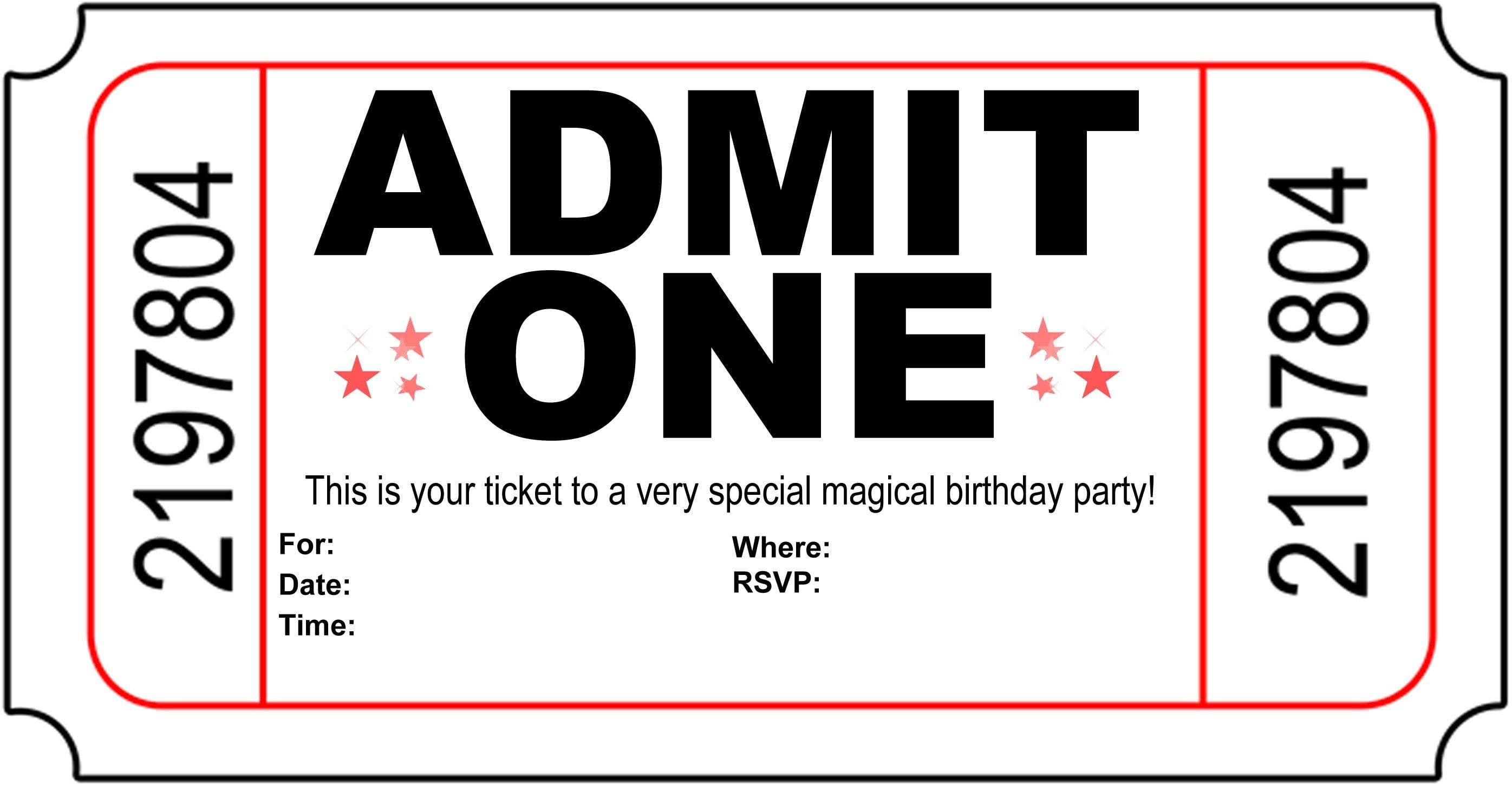 free printable birthday invitations for teenage girls