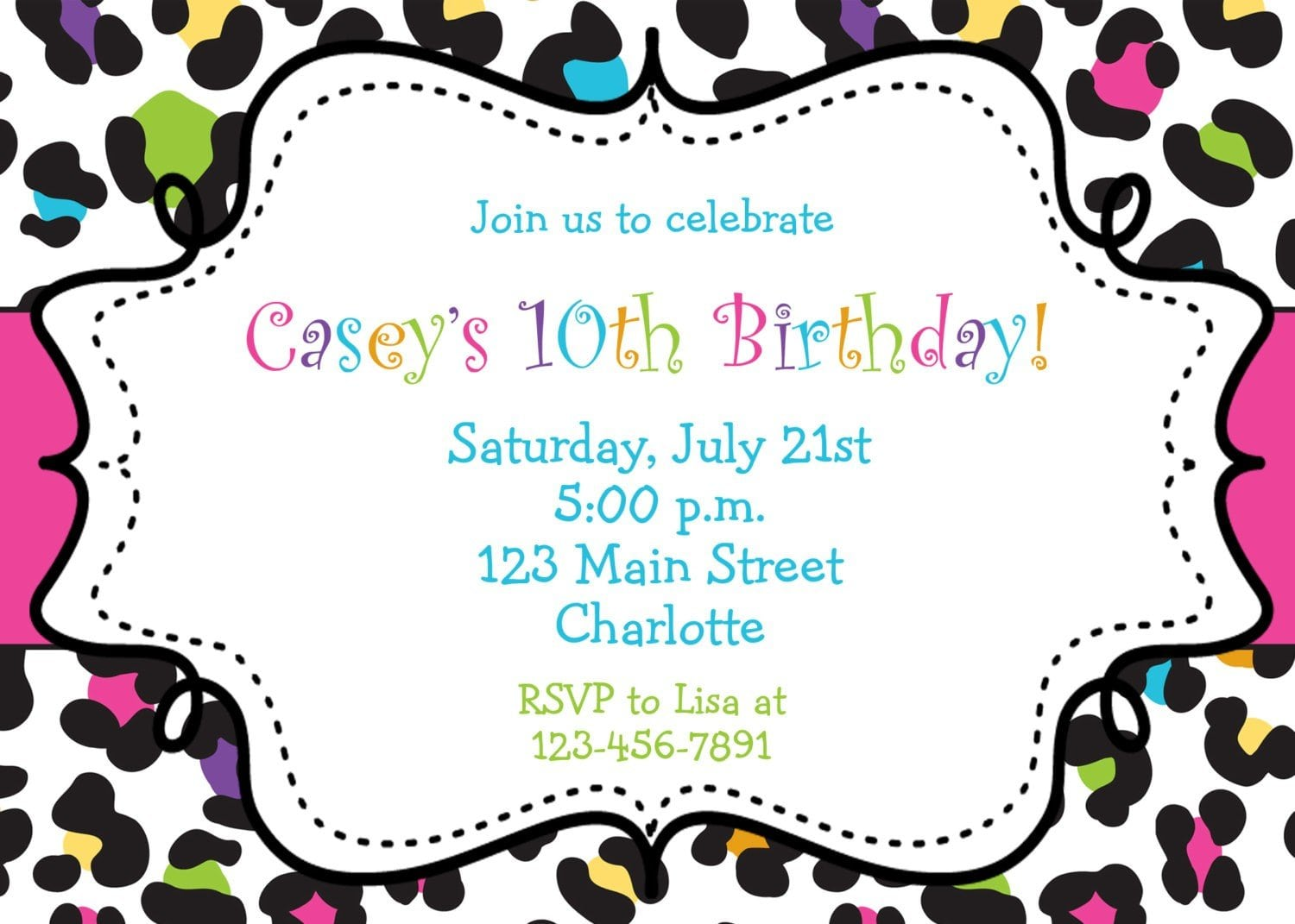 Free Printable Birthday Invites was very inspiring ideas you may choose for invitation ideas