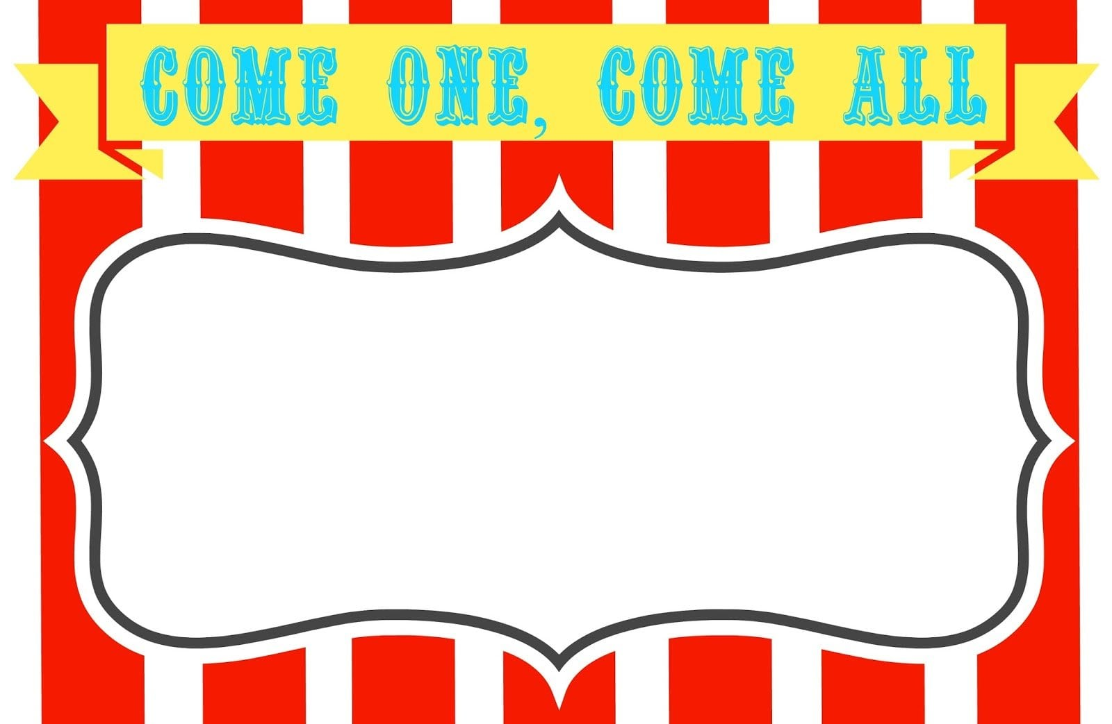carnival themed invitations templates free