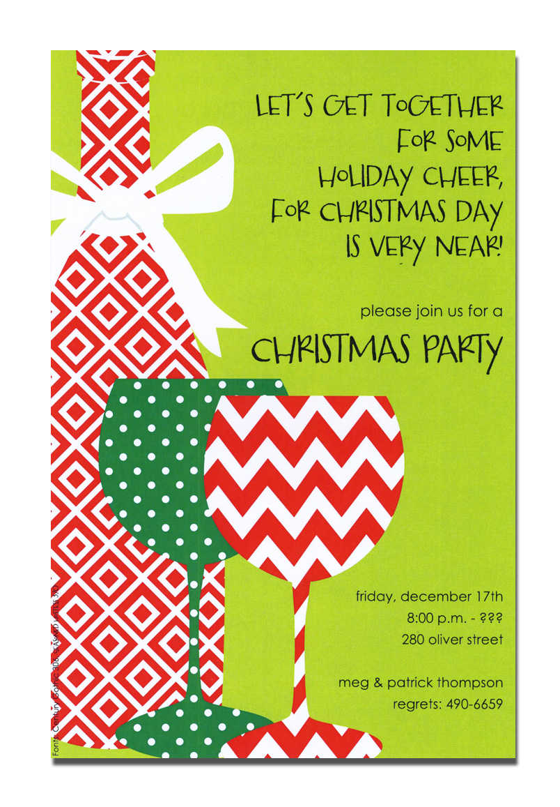 Free Printable Christmas Party Invitations – gangcraft.net
