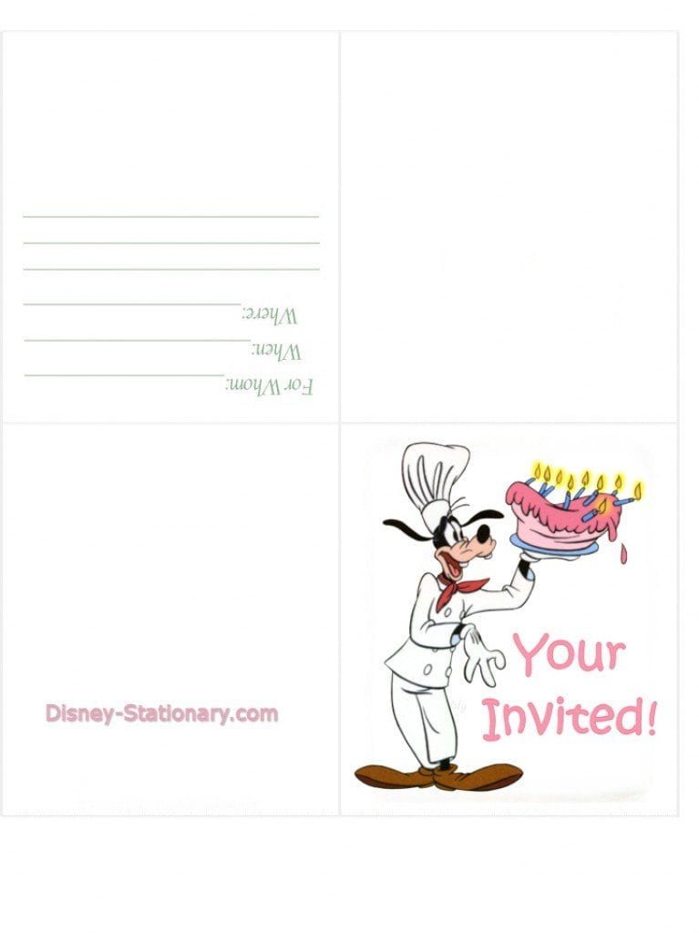 Free Printable For 40 Th Birthday Invitation Templates 3