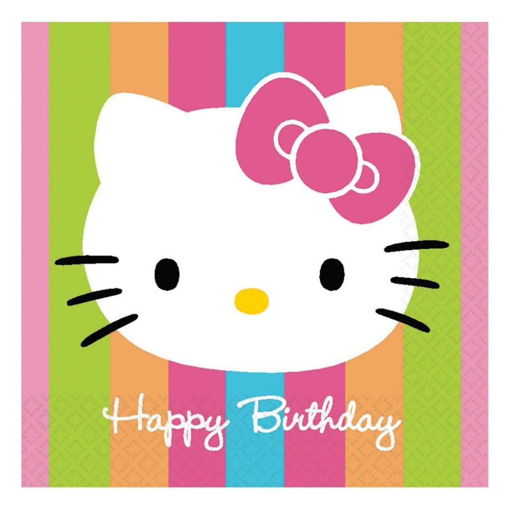 Free Printable Hello Kitty Birthday Party Invitations 3