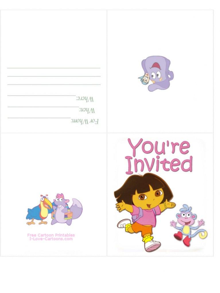 Free Printable Hello Kitty Birthday Party Invitations 4