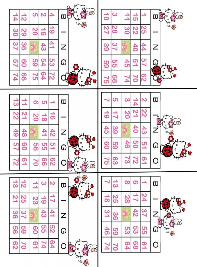 Free Printable Hello Kitty Invitation Templates