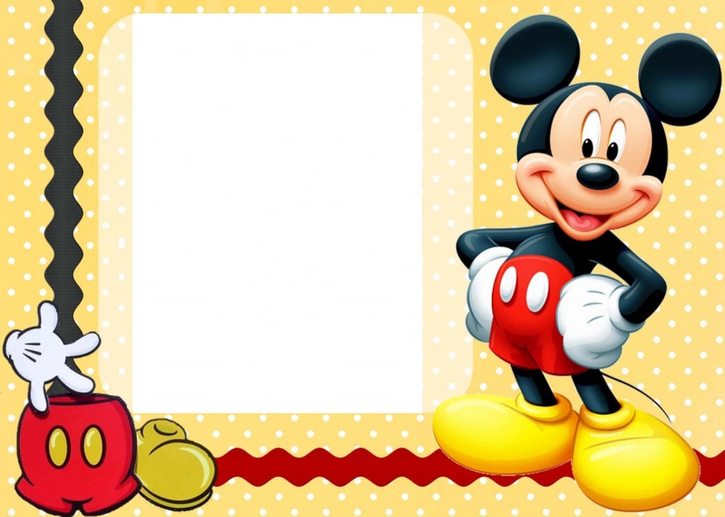 Free Printable Invitations Mickey Mouse