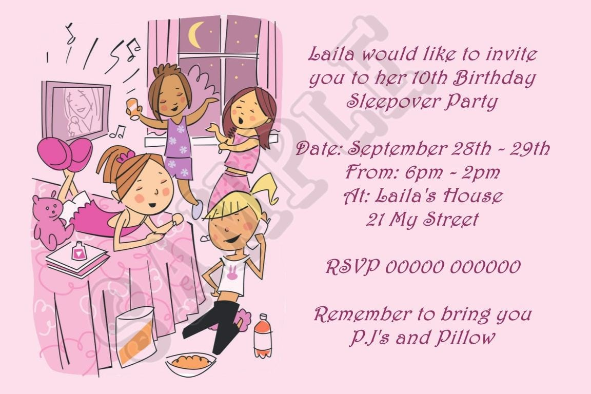 Free Printable Kids Birthday Pool Party Invitations Templates 2
