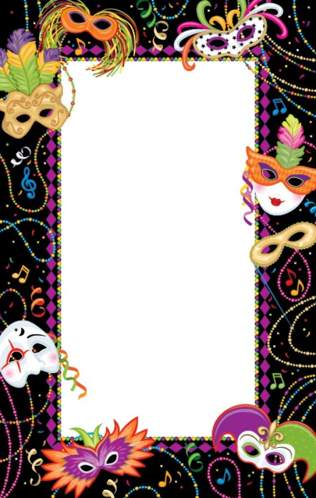 mardi gras ticket template .