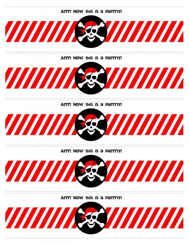 Free Printable Pirate Party Invitations Templates 2