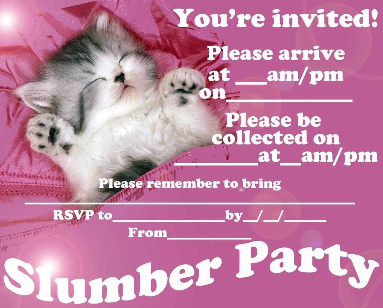 Free Printable Pool Party Birthday Invitations 5