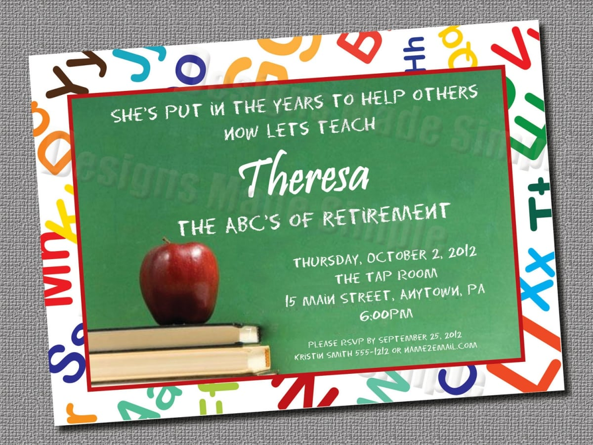 Free printable retirement invitations templates stopboris Gallery
