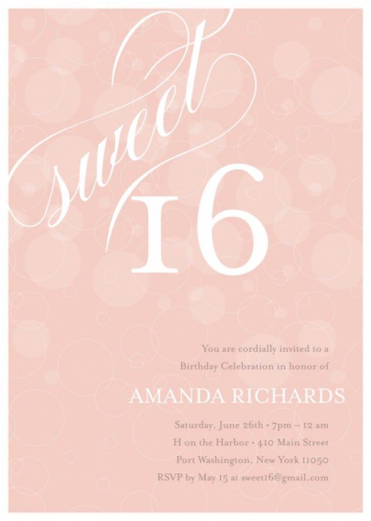 Freeprintablesweetinvitationtemplatesjpeg - Sweet 16 invitations templates