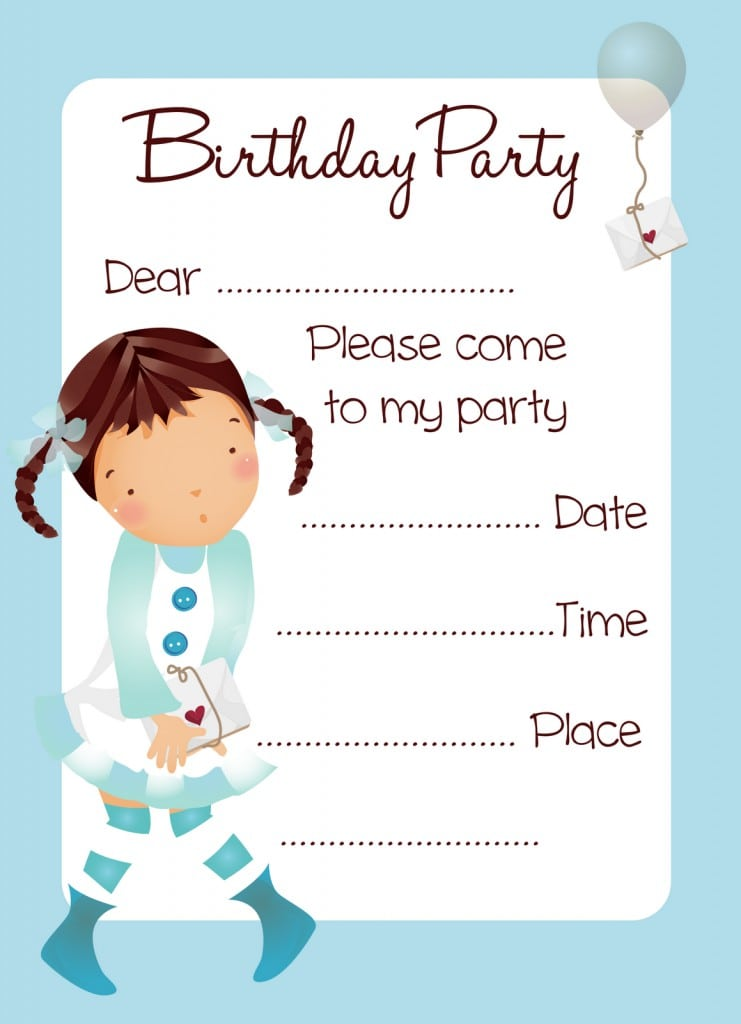 Free Printable Tinkerbell Birthday Party Invitations 4