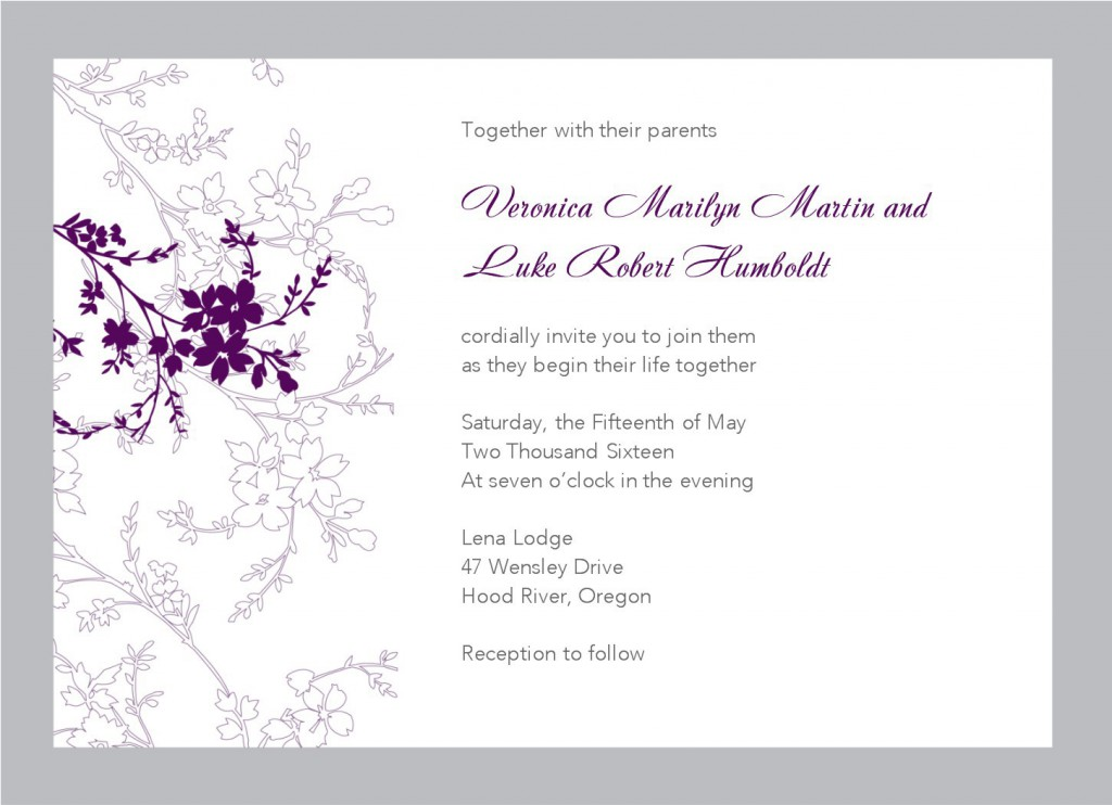 downloadable wedding invitations - Etame.mibawa.co