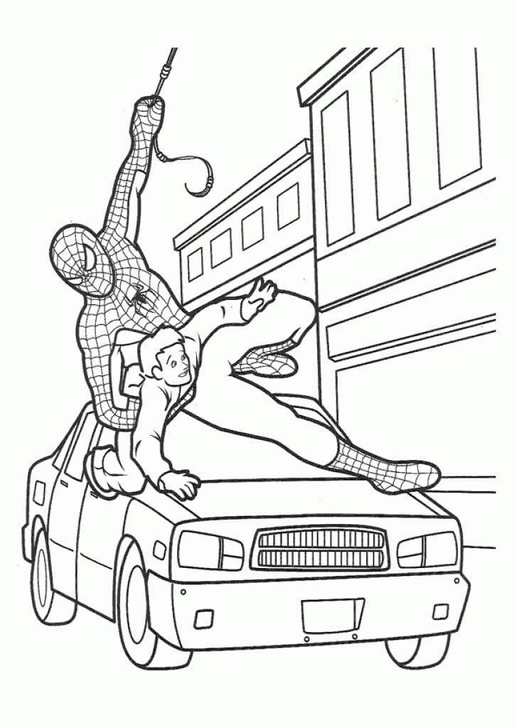 Free Spiderman Invitation Printable 5