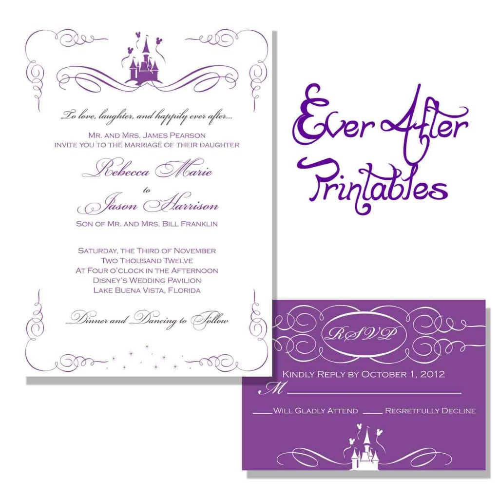 Free Templates For Wedding Invitation 2