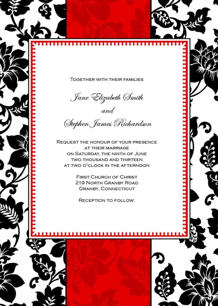 Free Vintage Invitations 5