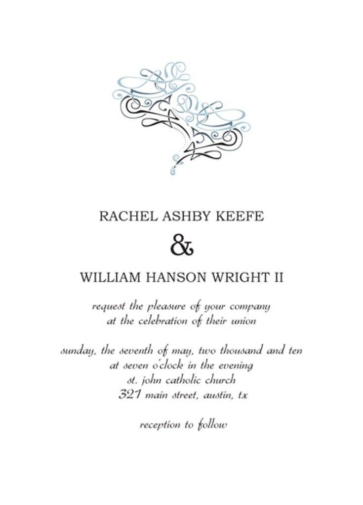 Free Wedding Anniversary Invitation Templates 2
