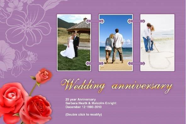 Free Wedding Anniversary Invitation Templates 5