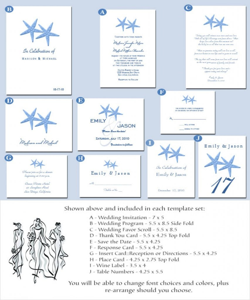 Free Wedding Invitation Template Free Downloads 2